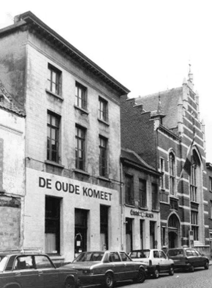 De oude Komeet circa 1975